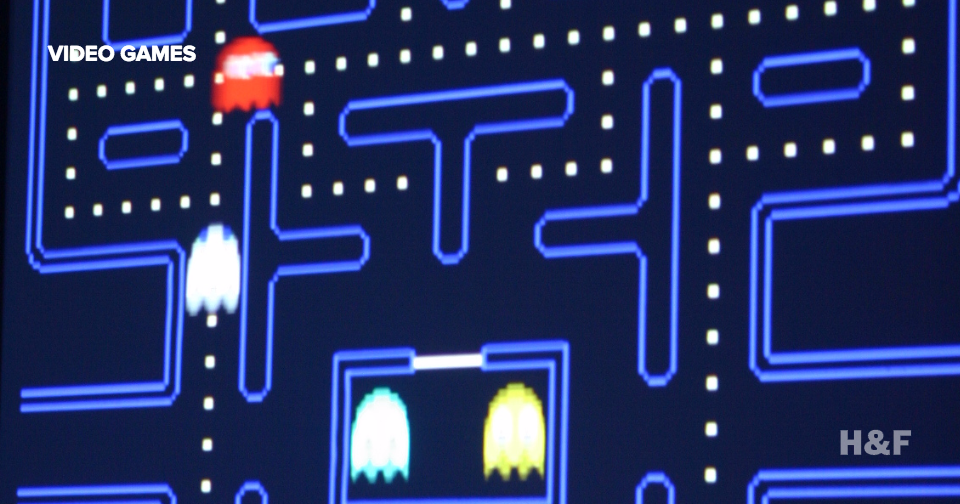 Pac-Man's ghosts were almost all red