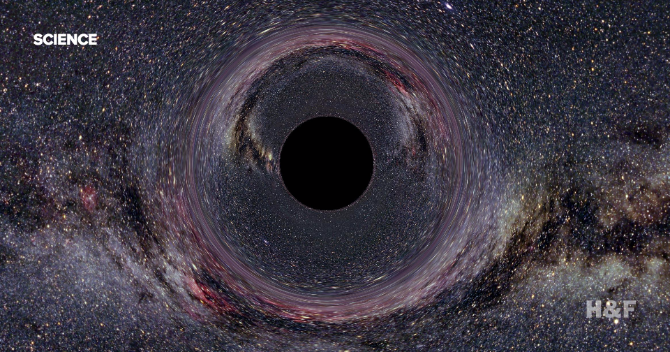 Supermassive Black Hole Discovered in   Daily Mail Online