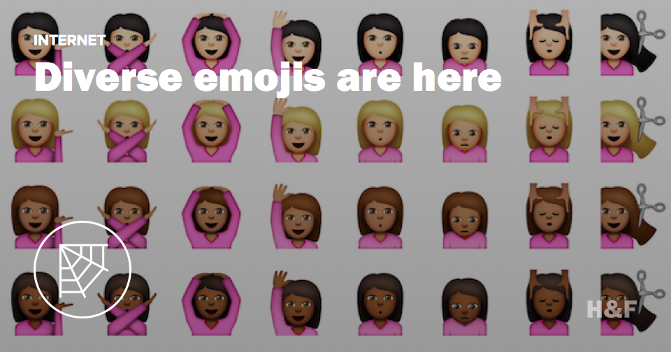 Here's what people are saying about the diverse Apple emojis available today