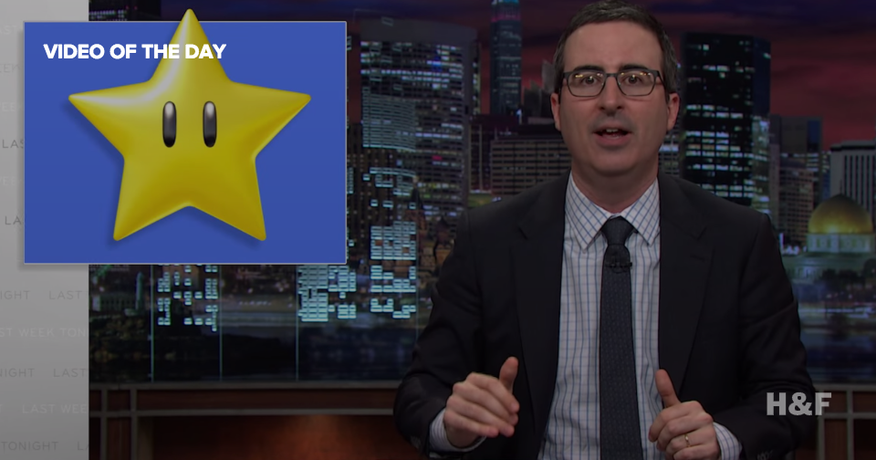 John Oliver takes on the lingering presence of legal LGBT discrimination in the US