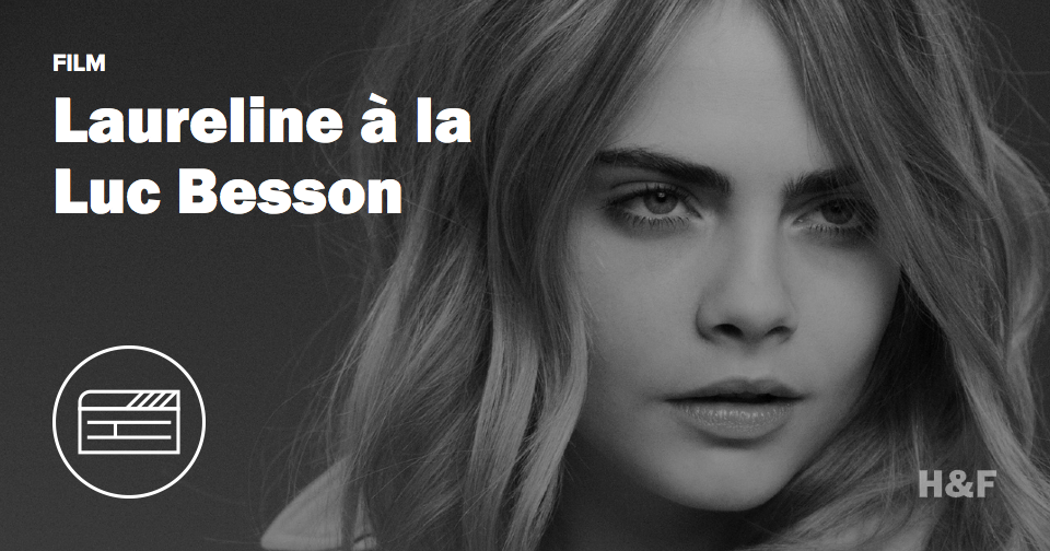 Luc Besson tweets for the first time, announces new sci-fi starring Cara Delevingne