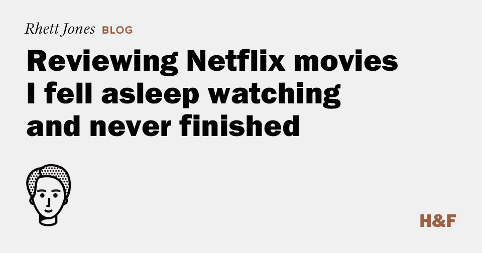 Reviewing Netflix movies