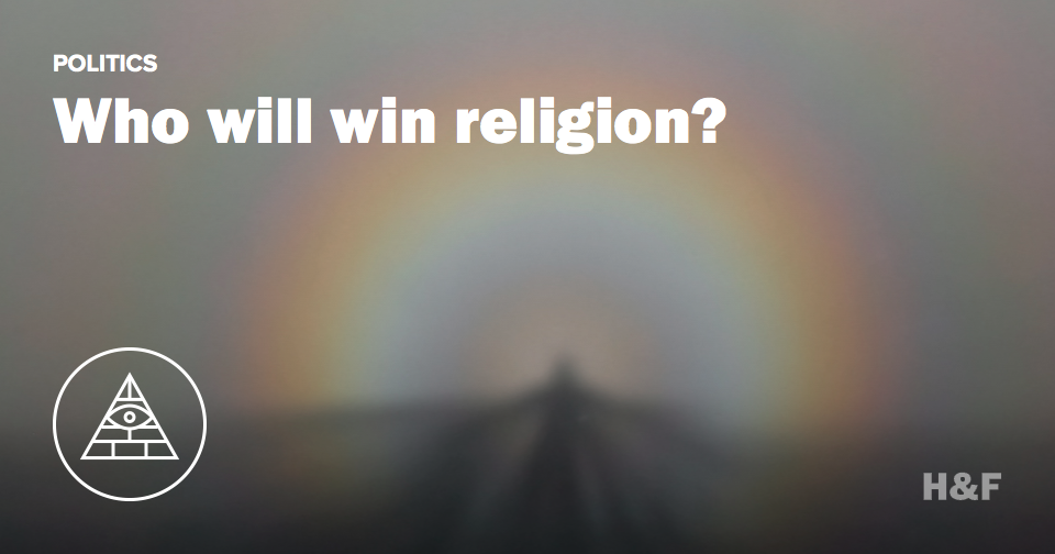 """""""Unaffiliated"""" religion to be second most popular in the US by 2050"""