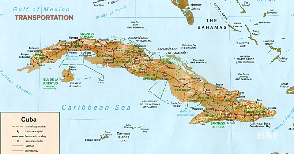 Florida will have ferries to Cuba