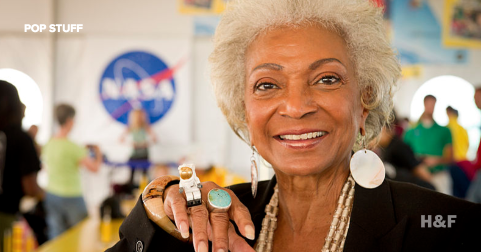 Star Trek's Nichelle Nichols boldy goes... on a NASA mission