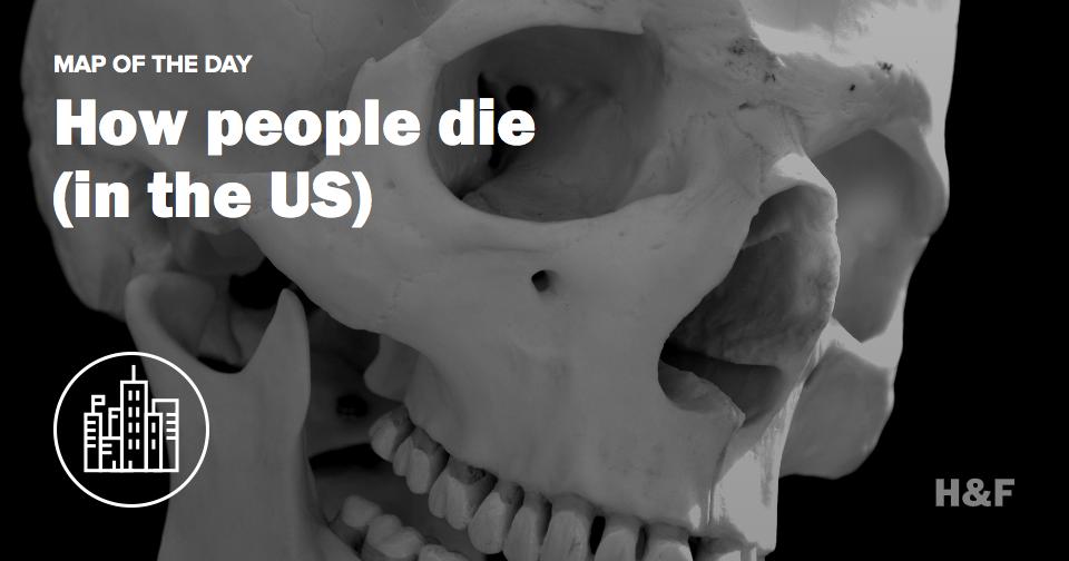 All the (distinctive) ways people die, by US state