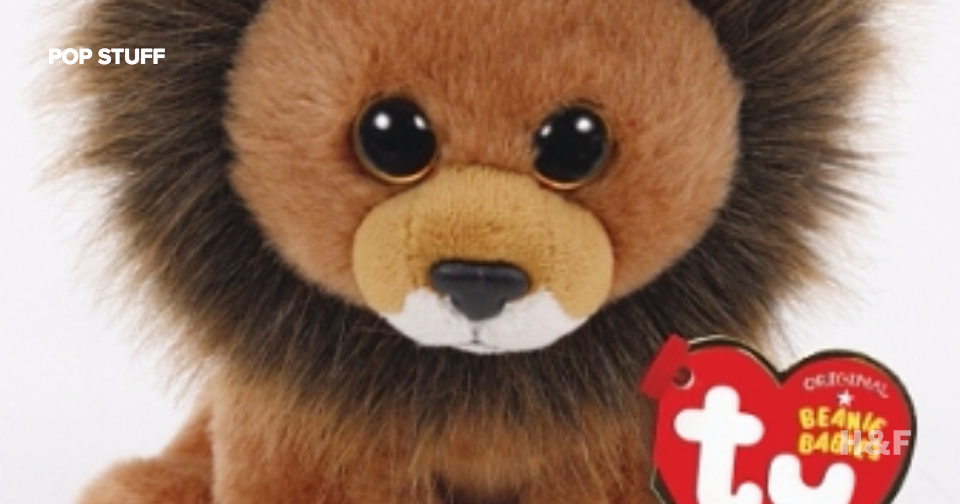 Cecil the Lion is a Beanie Baby