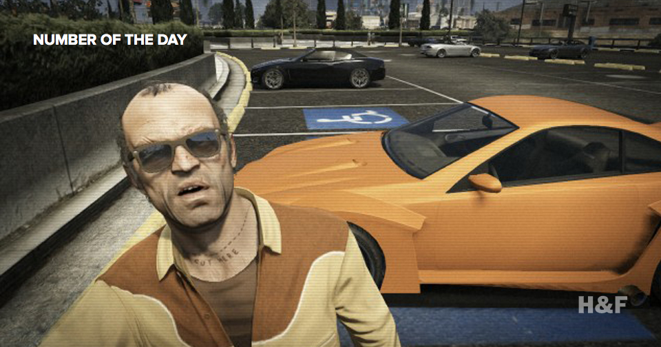 How much money did the world spend on GTA V so far?
