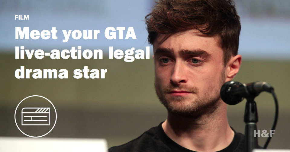 Daniel Radcliffe to star in Grand Theft Auto movie, but it's not what you think it is