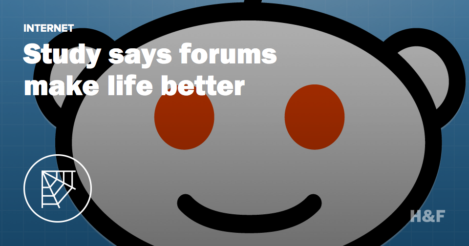 Reddit might be good for you