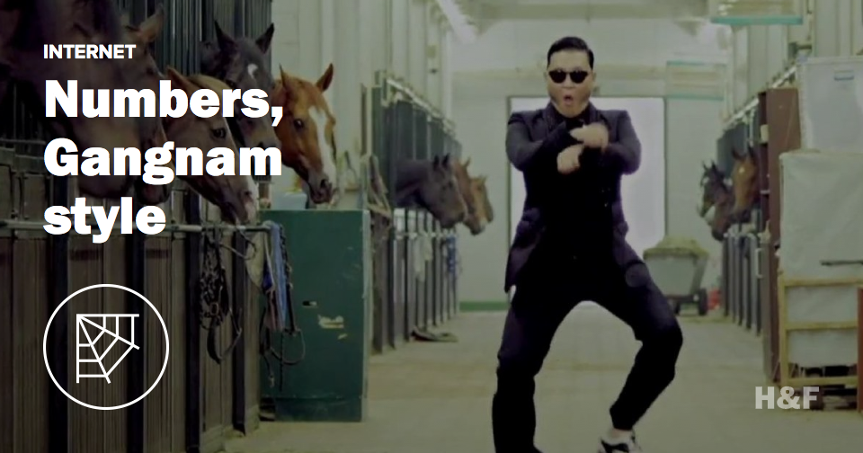 "Happy 18 thousand years of ""Gangnam Style"""