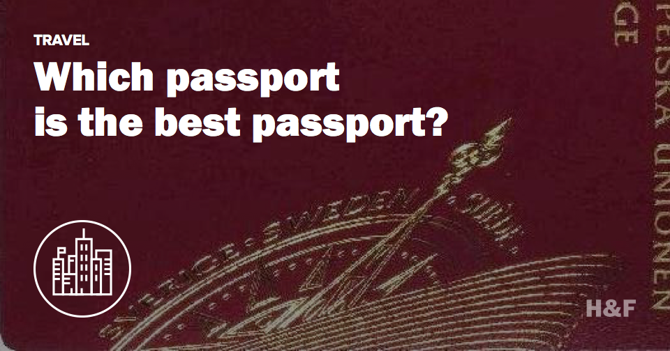 You want a Swedish passport
