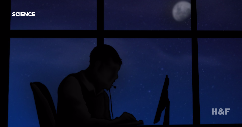 Working night shifts makes you prematurely old