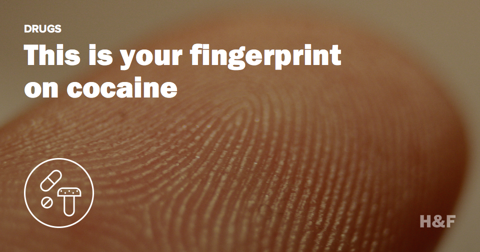 New test screens for cocaine via single fingerprint