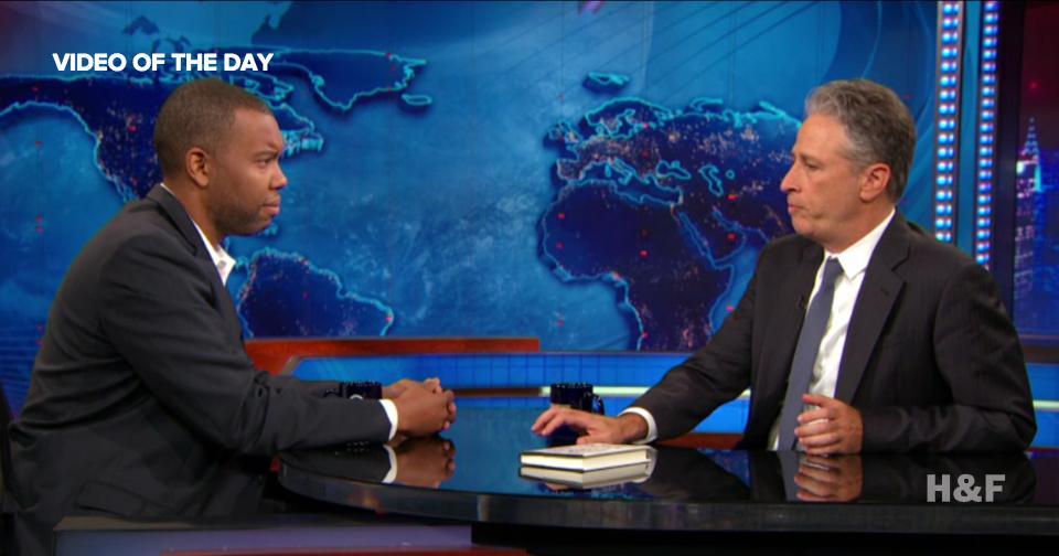 Jon Stewart interviews Ta-Nehisi Coates