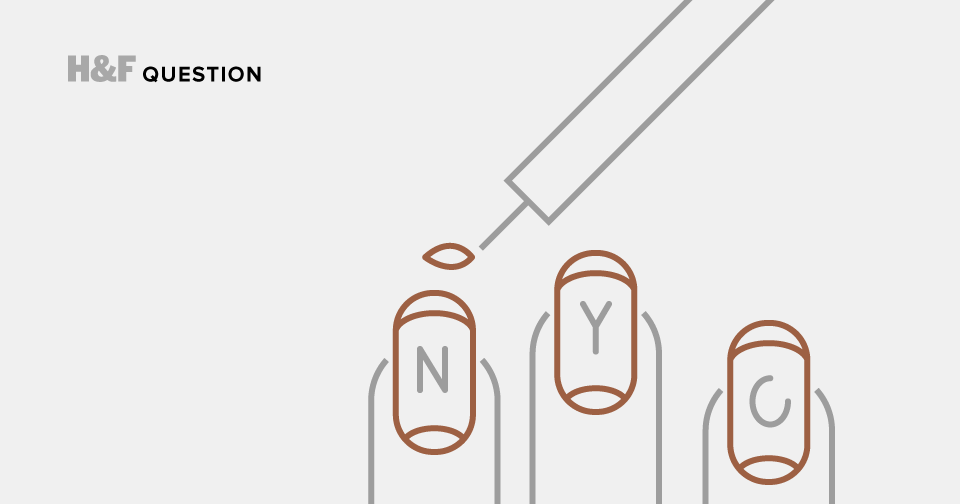 How much should you pay for a manicure in New York City?