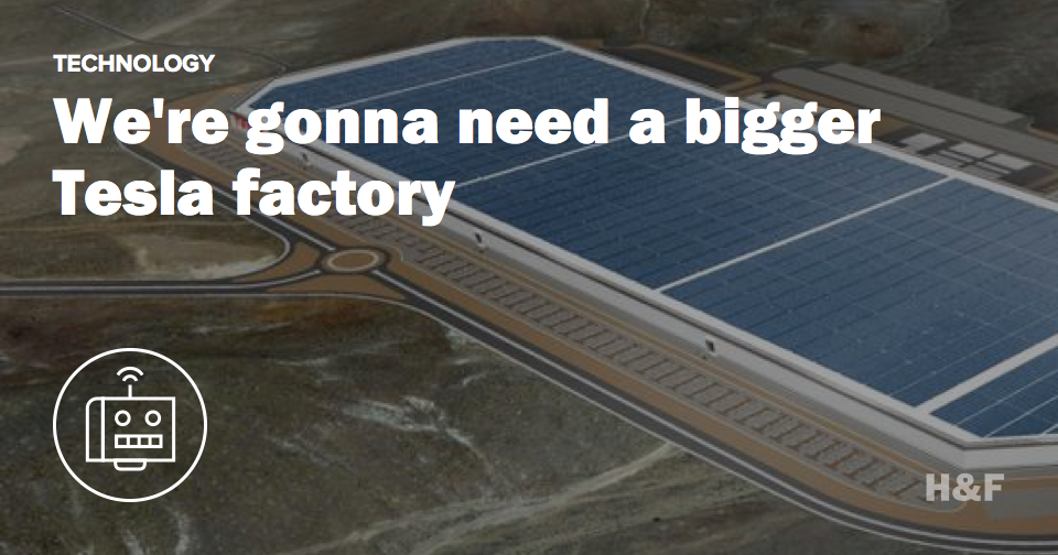 Tesla's factory isn't big enough to accommodate that battery promise