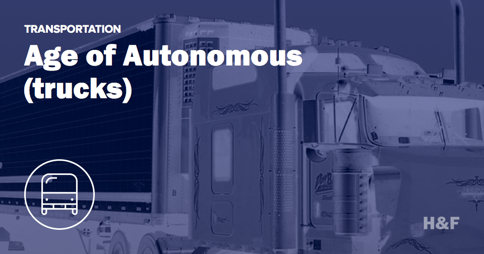 Self-driving trucks are driving around Nevada