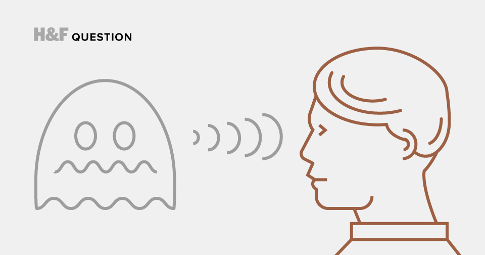Why don't ghosts communicate with us more directly?