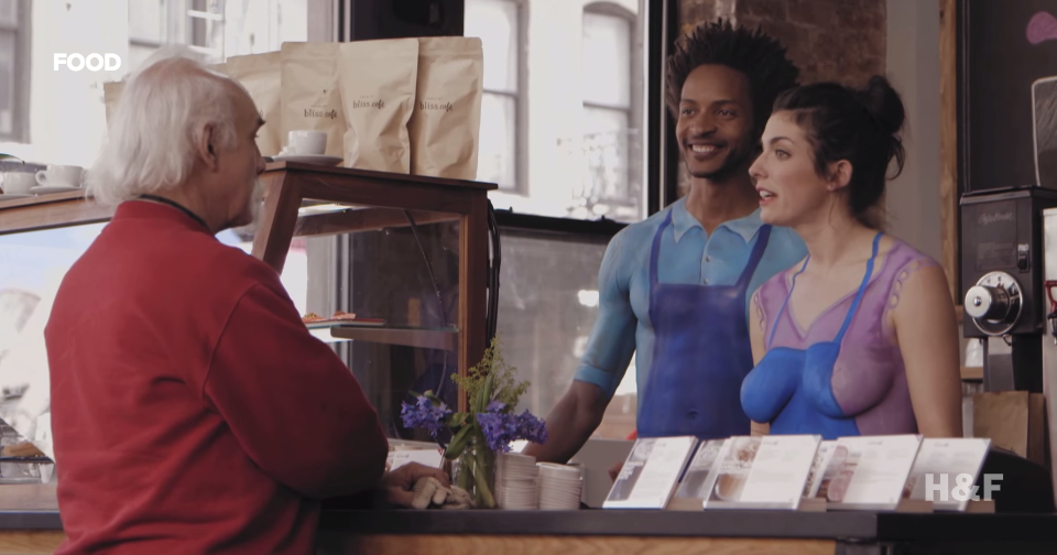 Nestlé's latest bid to have you buy their creamer features nude baristas