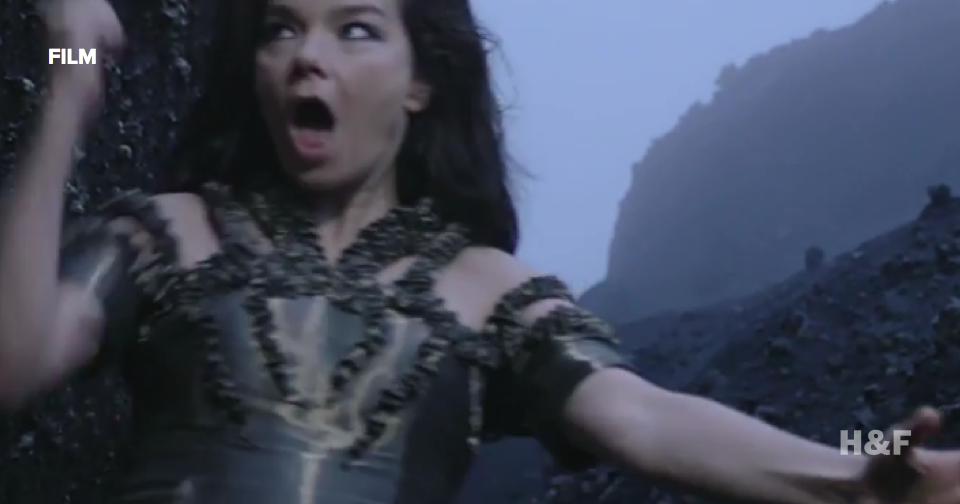 Watch Bjork's 'Black Lake' video directed by Andrew Thomas Huang