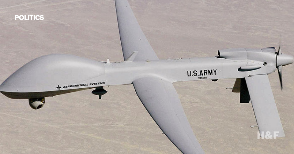 Pentagon plans to increase military drone flights 50% by 2019