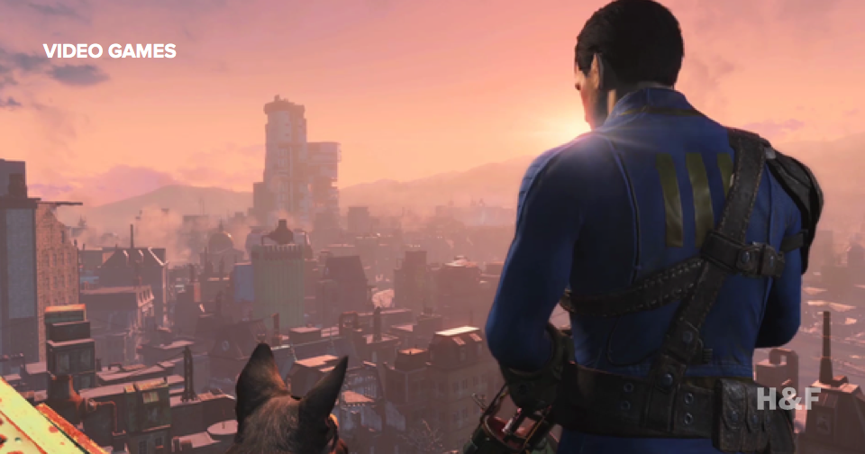 Fallout 4 demo at E3: giant mole rats and Minecraft-style environment building