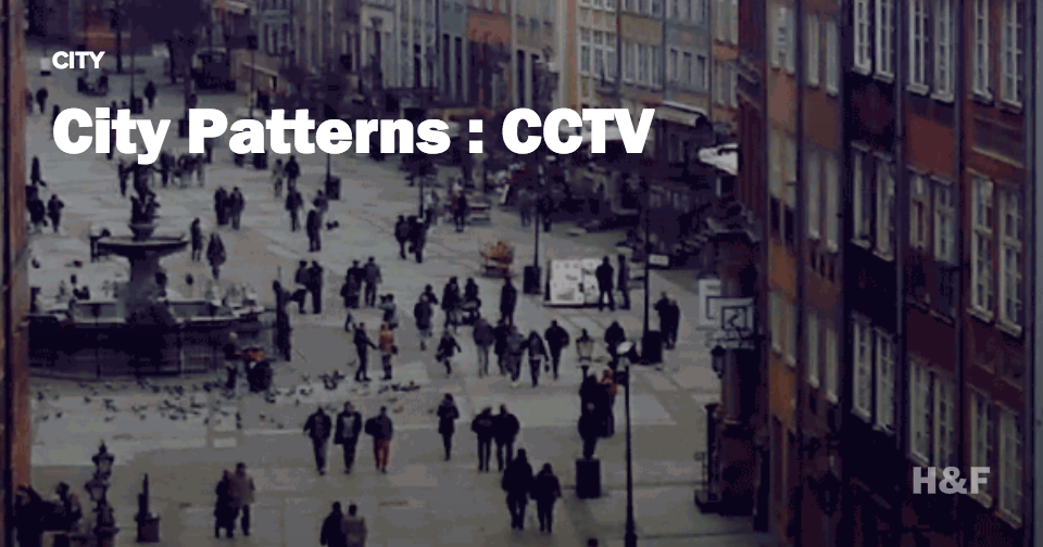 City patterns: CCTV