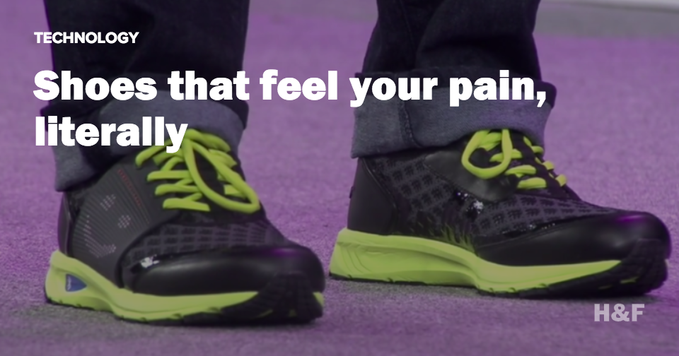 New smart shoes display your emotions