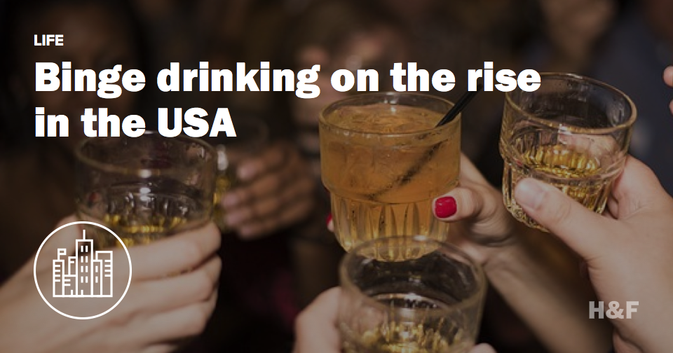 Americans love getting wasted, study finds
