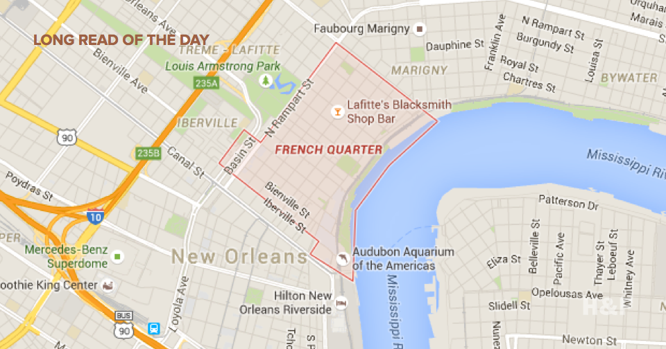Privately funded police force in New Orleans uses apps to patrol rich, white French Quarter