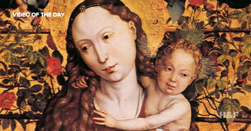 Why do babies in medieval paintings look like scary old men?
