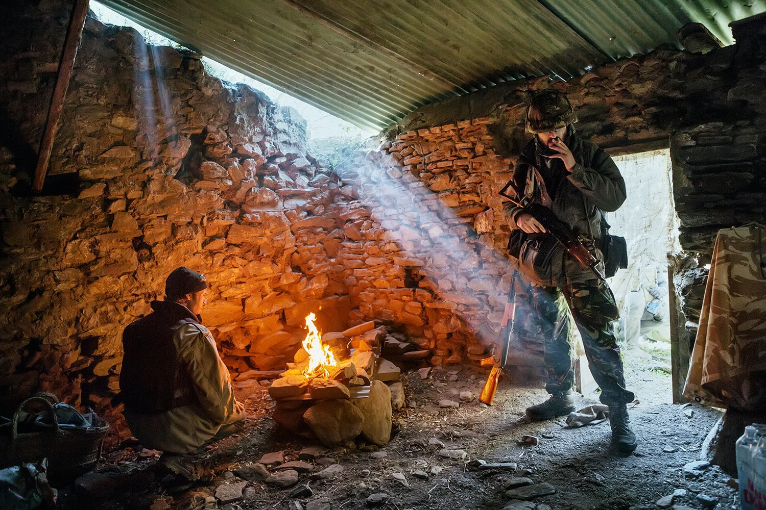 Luca Locatelli: My Week At War Photography Camp. Image 1.