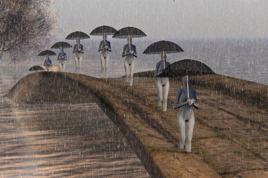 """""""Arch Umbrella"""", Tizzy Canucci. Image 14."""