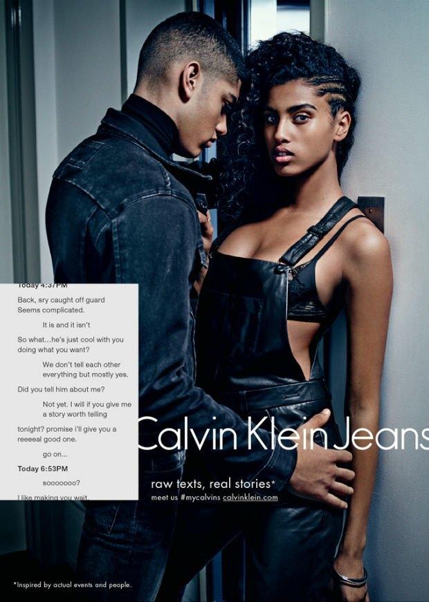 Calvin Klein Fall 2014 Campaign, via Calvin Klein.. Image 3.
