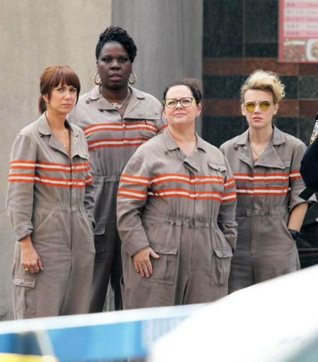 'Ghostbusters' team photo, via NeoGaf.. Image 1.