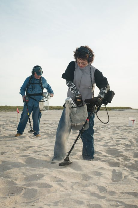 Digging for glory with Long Island's beachcombers. Image 11.