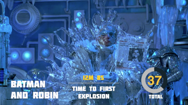 Explosions in 'Batman & Robin', via YouTube.. Image 3.