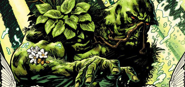 Swamp Thing, via DC Comics.. Image 1.