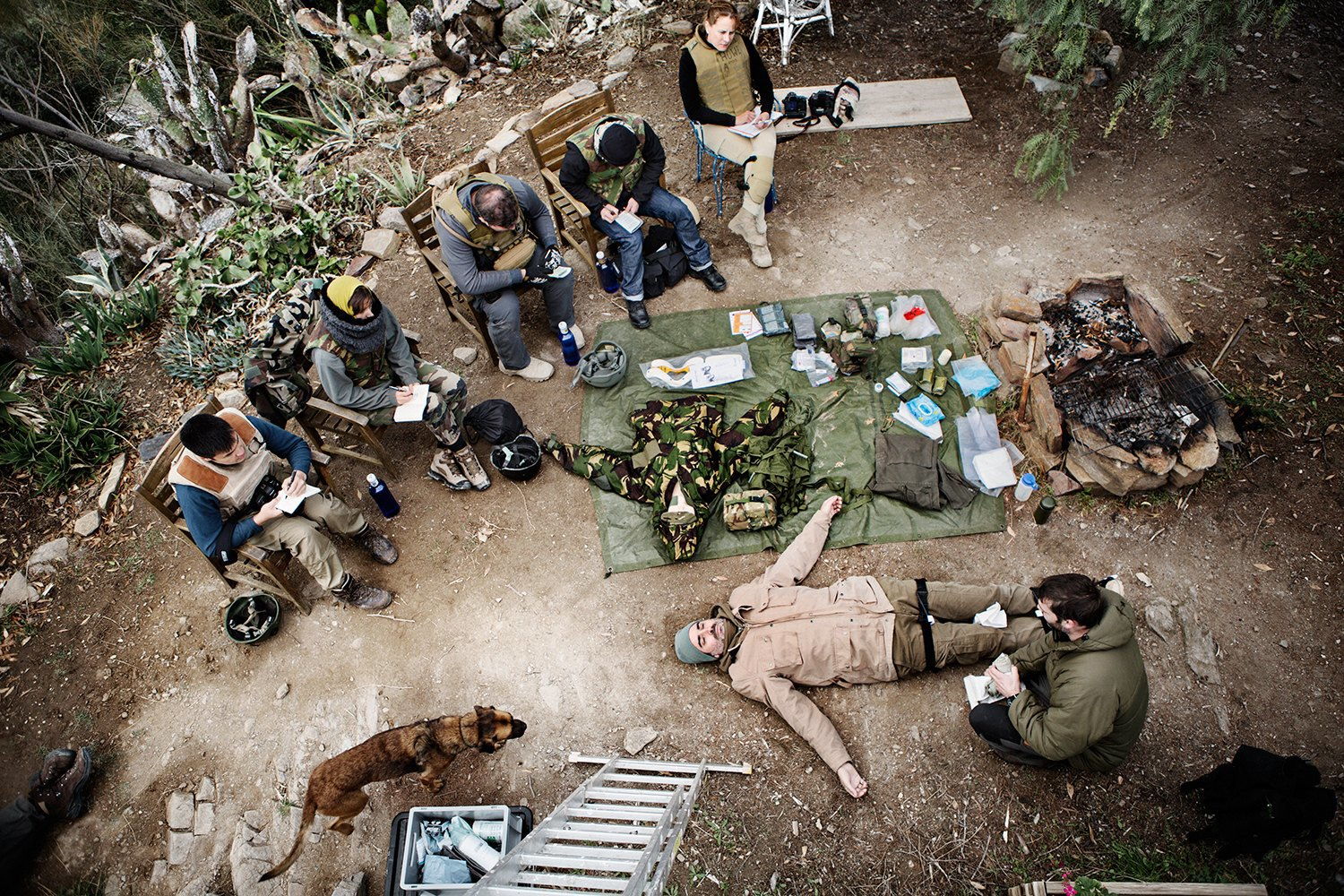 Luca Locatelli: My Week At War Photography Camp. Image 10.