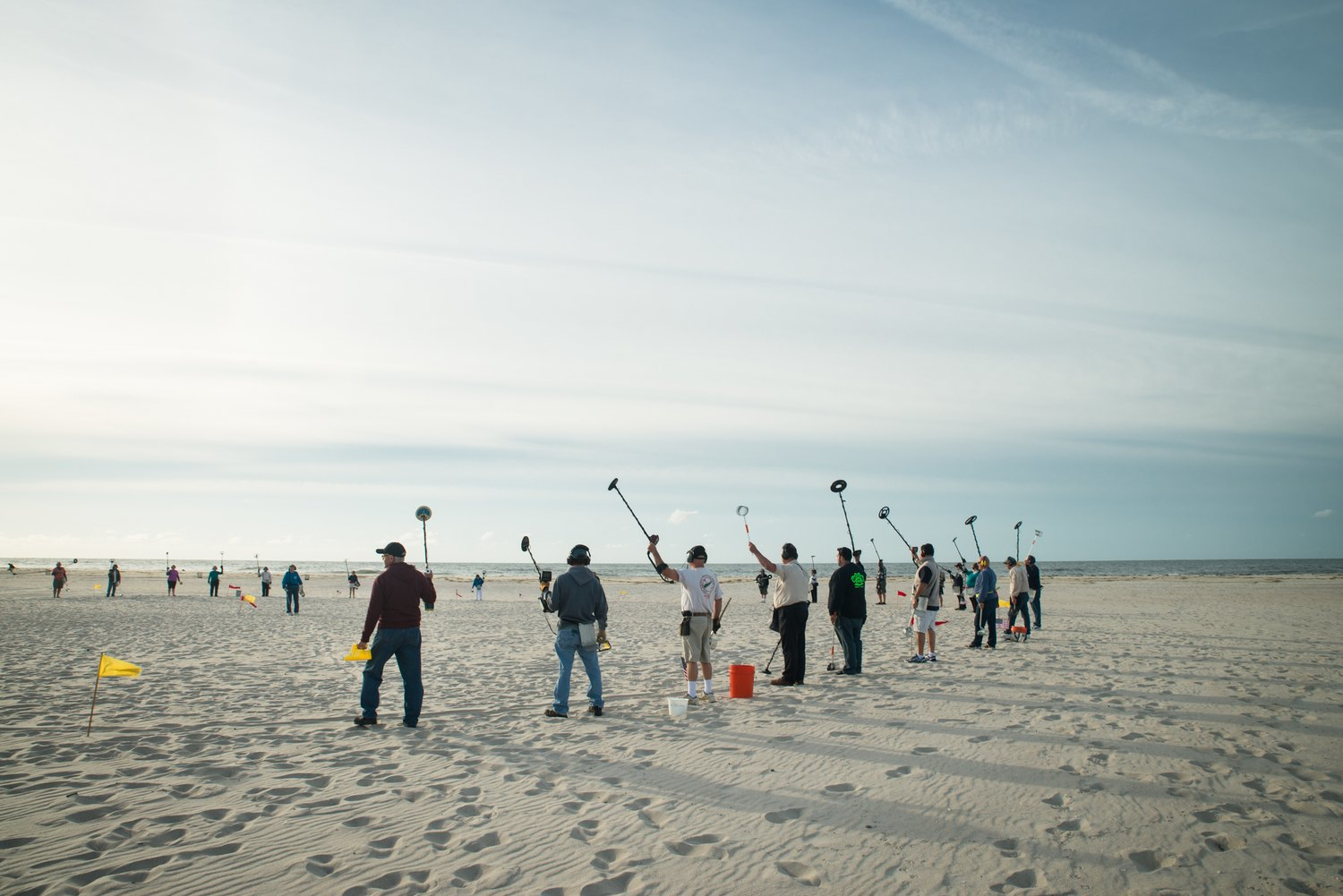 Digging for glory with Long Island's beachcombers. Image 9.