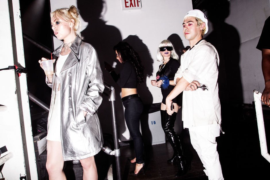 A bloody hot mess of photos from NYC's Blade Rave. Image 2.