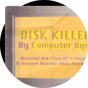 The life and death of the creative computer virus. Image 3.