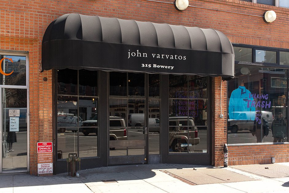 315 Bowery 1997 CBGB →2015 John Varvatos. Image 6.