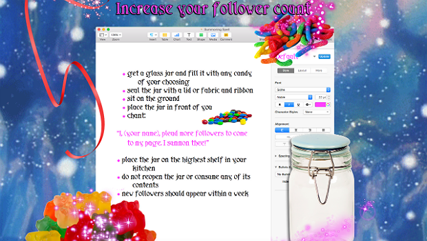 Increase your follower count, via Molly Soda at Newhive.com.. Image 2.