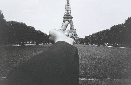 "Ai Weiwei, ""Study of Perspective - Eiffel Tower,"" 1995-2003.. Image 2."
