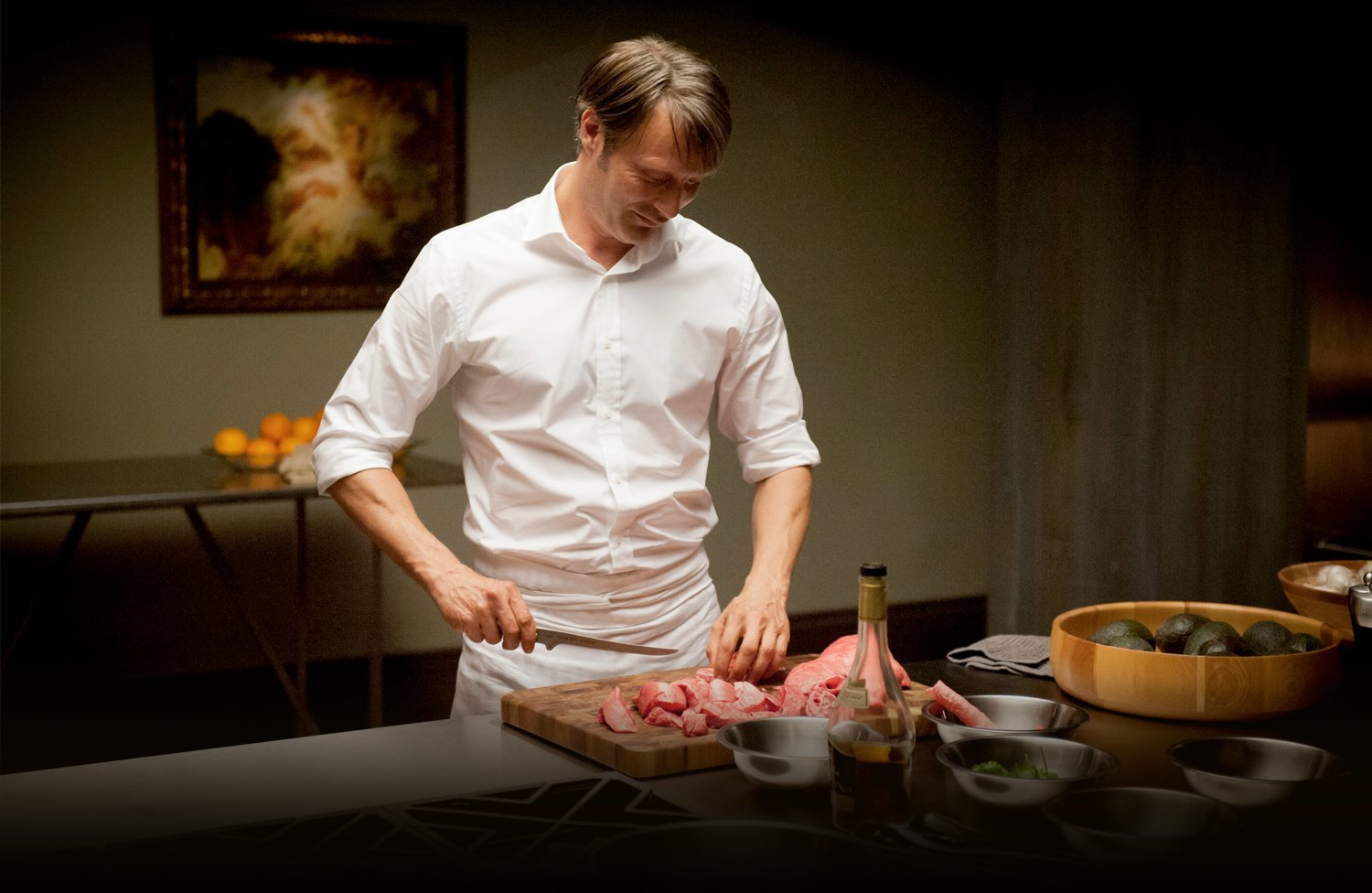 How Hannibal's food stylist creates hypothetical human meat. Image 4.