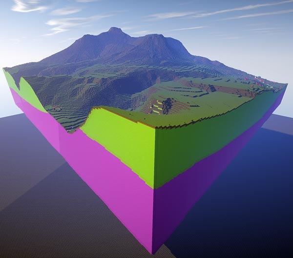 Walk through these stunning British landscapes built in Minecraft. Image 1.