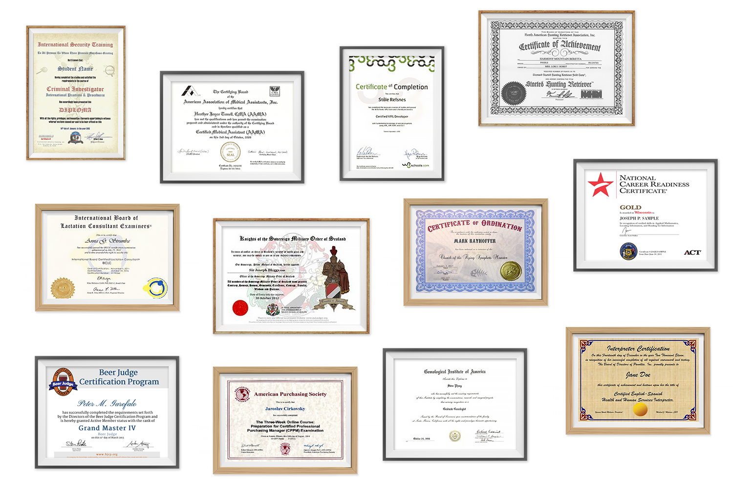 All the weird certifications you can get online, from Beer Judge to Pokemon Professor. Image 2.