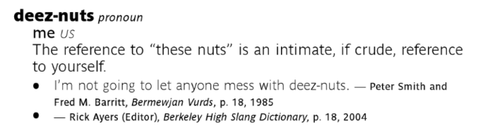 Image: The New Partridge Dictionary of Slang and Unconventional English. Image 1.